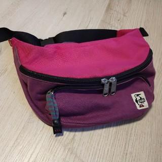 チャムス(CHUMS)のCHUMS ボディバッグ ピンク×紫(ボディバッグ/ウエストポーチ)