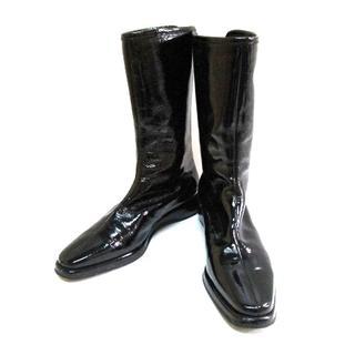 サルヴァトーレフェラガモ(Salvatore Ferragamo)のサルバトーレフェラガモ ブーツ 6 1/2 D(ブーツ)