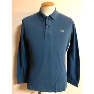 ラコステ(LACOSTE)のLACOSTE ラコステ 長袖 ポロシャツ サイズ4 ディープブルー xpv (ポロシャツ)
