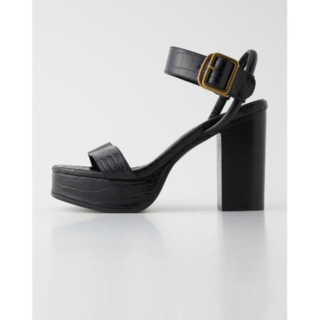 SLY(スライ)のSLY サンダル ブラック レディースの靴/シューズ(サンダル)の商品写真