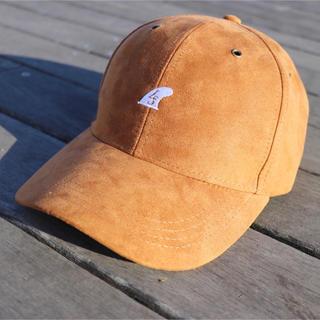 パタゴニア(patagonia)のストリート系☆LUSSO SURF スウェード刺繍キャップ☆帽子 RVCA(キャップ)