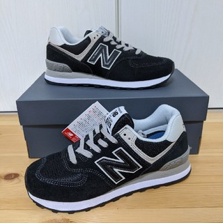 New Balance - ML574 24cm ブラック