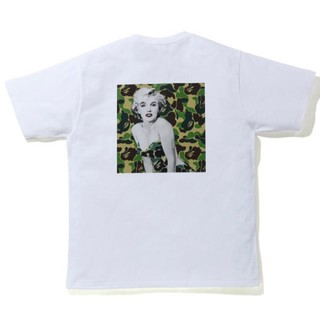 A BATHING APE - A BATHING APE マリリンモンロー Tシャツ L