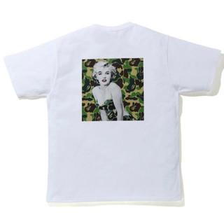 アベイシングエイプ(A BATHING APE)のA BATHING APE マリリンモンロー Tシャツ L(Tシャツ/カットソー(半袖/袖なし))