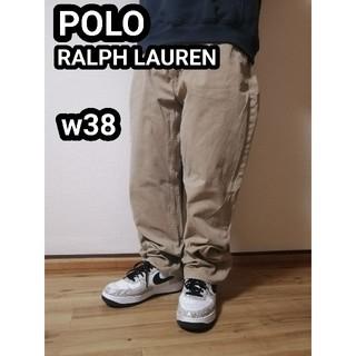 ポロラルフローレン(POLO RALPH LAUREN)のポロ ラルフローレン ワークパンツ チノパン ビッグサイズ  ポロチノ w38(チノパン)
