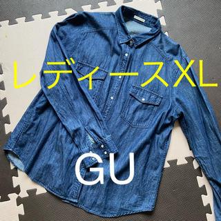 GU - GU デニムシャツXL