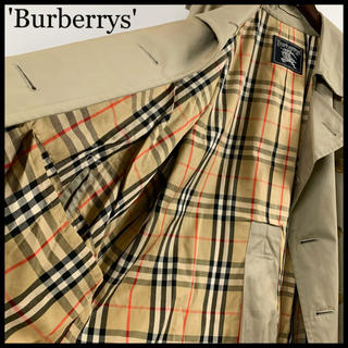 BURBERRY - BURBERRY バーバリー トレンチコート カーキ メンズ 裏地総柄 特価