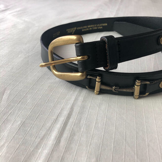 【TORY LEATHER】Snaffle Bit Leather Belt