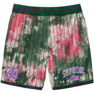 Supreme - 【XLサイズ】Dyed Basketball Short  Green