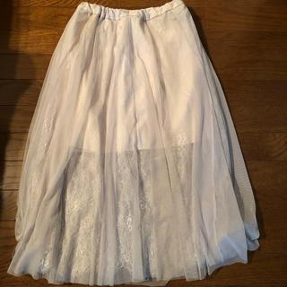 セシルマクビー(CECIL McBEE)のチュールスカート (ロングスカート)