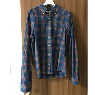 アバクロンビーアンドフィッチ(Abercrombie&Fitch)のメンズ チェックシャツ ネルシャツ(シャツ)