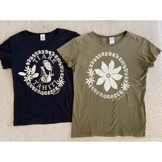 タヒチインポーツのTシャツ2枚セット フラダンス
