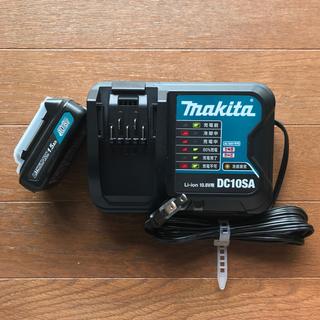 Makita - マキタ純正 リチウムイオンバッテリBL1015+充電器DC10SA