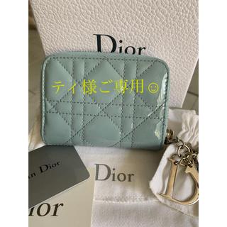 Dior - Dior エナメルミニ財布