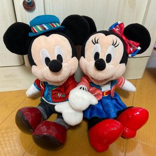 Disney - ハローニューヨーク ペアぬいぐるみ