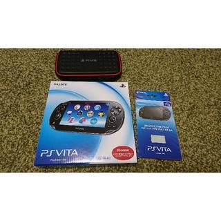 PlayStation Vita - 【美品】PlayStation®Vita クリスタル・ブラック