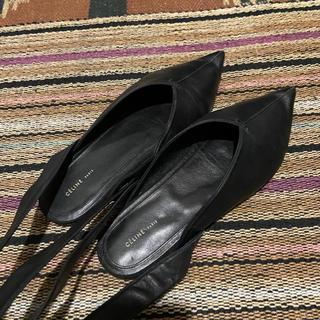 セリーヌ(celine)のceline flat shoes 37(ローファー/革靴)