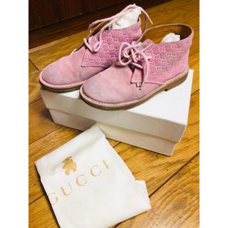 Gucci - GUCCI チルドレン ブーツ スニーカー 26