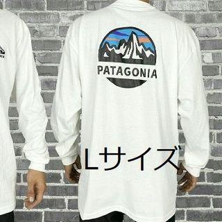 patagonia - パタゴニア 長袖 ロンT  マウンテン クラシック アウトドア  白