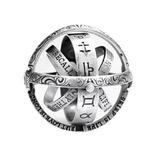 星座 ギミック 指輪 リング ネックレス(リング(指輪))