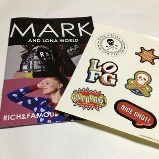 マークアンドロナ(MARK&LONA)のEVEN 雑誌付録 ステッカー 冊子(その他)