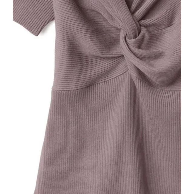 GRL(グレイル)のGRL♡フロントツイストリブトップス レディースのトップス(カットソー(半袖/袖なし))の商品写真