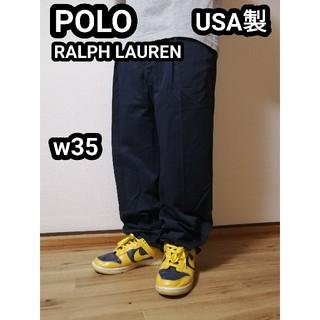 ポロラルフローレン(POLO RALPH LAUREN)のUSA製 ポロ ラルフローレン ワークパンツ チノパン ビッグサイズ  ポロチノ(チノパン)