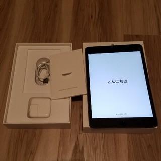 iPad - au iPad mini4 32GB Wi-Fi+Cellular MNWE2J