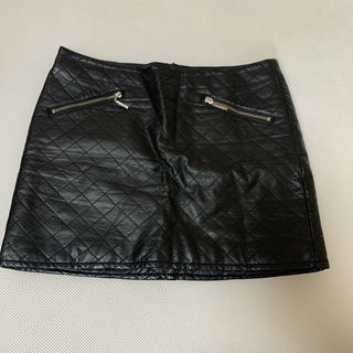 レザースカート 40