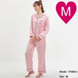 GU - GU 長袖 パジャマ ドラえもん ピンク M