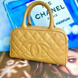 シャネル(CHANEL)の美品✨ シャネル 正規品 マトラッセ デカココ ミニボストン バッグ(ボストンバッグ)