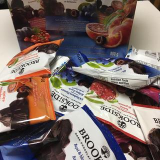 コストコ(コストコ)のブルックサイドチョコレート 1箱40袋 おやつ 仕事合間 ご褒美(菓子/デザート)