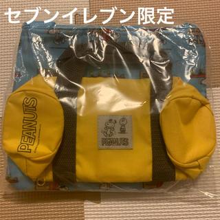 スヌーピー(SNOOPY)のスヌーピー付録保冷バッグ&ペットボトルホルダー(弁当用品)