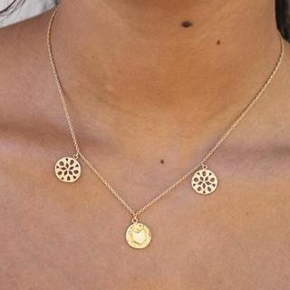 アリシアスタン(ALEXIA STAM)のALEXIASTAM Floral Openwork Gold ネックレス(ネックレス)