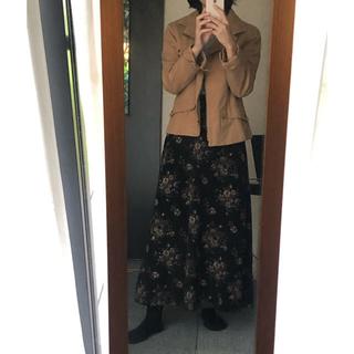花柄ロングスカート  9月末処分