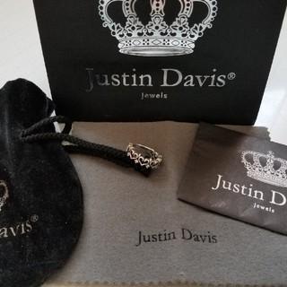 ジャスティンデイビス(Justin Davis)の廃盤♡人気 Justin Davis ジャスティンデイビス ハート 指輪 リング(リング(指輪))