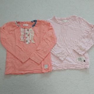 キムラタン(キムラタン)のビケット&Youpi! トップス2枚セット  長袖 女の子  (Tシャツ/カットソー)