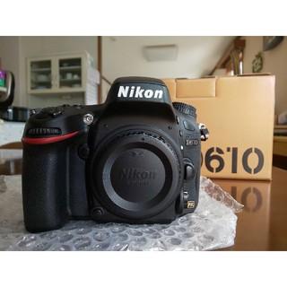Nikon - NIKON D610 ボディ 美品 メーカー保証残有り