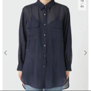 スピックアンドスパン(Spick and Span)のシースルーシャツ(Tシャツ(長袖/七分))