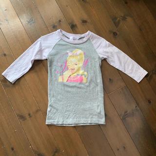 レディー(Rady)のちびrady キャンディちゃん ロンT ワンピース(Tシャツ/カットソー)