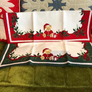 WEDGWOOD - ウエッジウッド ランチョンマット テーブルマット クリスマス