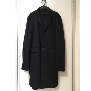 ブラックコムデギャルソン(BLACK COMME des GARCONS)のロングジャケット ブラック(テーラードジャケット)