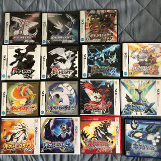 ニンテンドー3DS(ニンテンドー3DS)のポケットモンスターシリーズ15種(携帯用ゲームソフト)