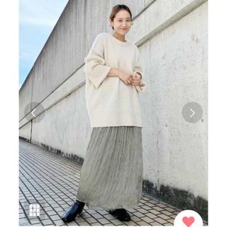 カスタネ(Kastane)の未使用 Kastane  フィラメントサテンスカート(ロングスカート)