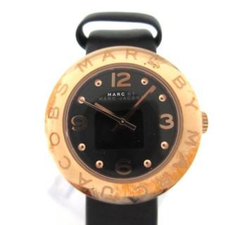 マークバイマークジェイコブス(MARC BY MARC JACOBS)のマークジェイコブス 腕時計 MBM1227 黒(腕時計)