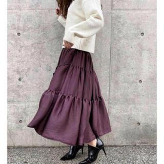 rienda - rienda ボリューム 切り替え ロングスカート