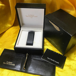 Van Cleef & Arpels - ★Van Cleef & Arpels 腕時計ケース& 本革カードケース★保管品