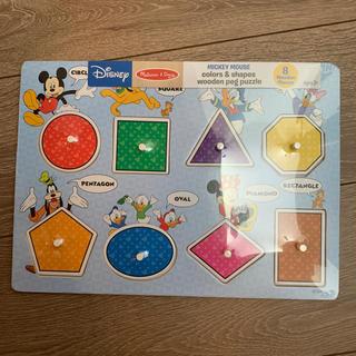 Disney - 【Melissa&Doug】ディズニー 木製パズル 図形