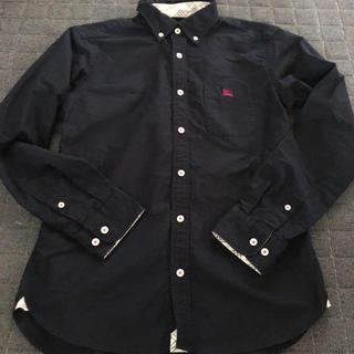 BURBERRY BLACK LABEL - BURBERRY BLACK LABEL 長袖シャツ 2サイズ