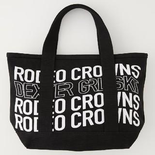 ロデオクラウンズワイドボウル(RODEO CROWNS WIDE BOWL)の新作ブラック※早い者勝ちノーコメント即決しましょう❗️折り畳み発送になります。(トートバッグ)